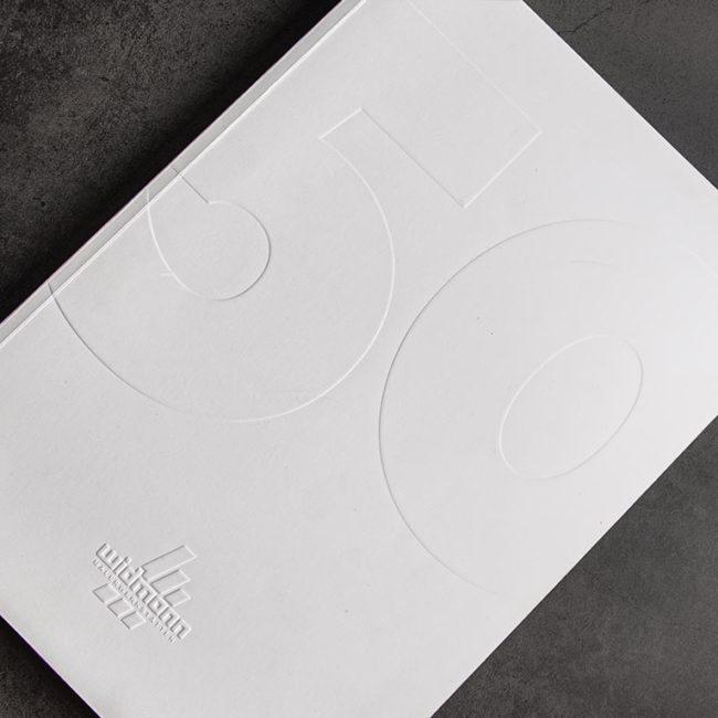 Graphik Design - Graphic Design - 50 Jahre Maler Widmann Magazin - Gestaltung von publikWERk in Schwäbisch Hall PRINT DESIGN publikwerk